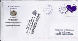TP N° 5050E SUR LETTRE  RECOMMANDEE DU 21.07.16   ///RARE/// - 1961-....