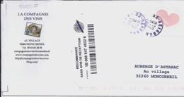 TP N° 5050F SUR LETTRE  RECOMMANDEE DU 21.07.16   ///RARE/// - 1961-....