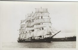 """The Barque """" Garthpool """"  S-4522 - Sailing Vessels"""