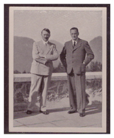Adolf Hitler (007124) Sammelbilder Austria Tabakwerke, AH Und Sein Weg Zu Großdeutschland Bild 287, Führer Und Henlein - Cigarette Cards