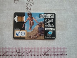 Telecarte Polio 1989 - France