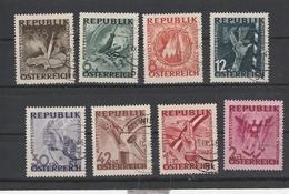 Mi. Nr. 776 - 783 Gestempelt - 1945-.... 2. Republik