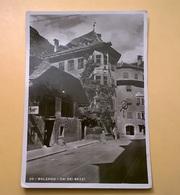 CARTOLINA POSTCARD VIAGGIATA ITALIA 1943 BOLLO SERIE IMPERIALE BOLZANO CENTRO STORICO ANNULLO BOLZANO - Bolzano (Bozen)