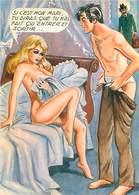Illustrateur Carriere -  Femme Nu   W 84 - Humour