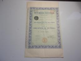 LA LUMIERE NOUVELLE (imprimerie RICHARD) 1896 - Non Classés