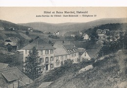 CPA - France - (67) Bas Rhin - Hôtel Et Bains Marchal, Hohwald - Autres Communes
