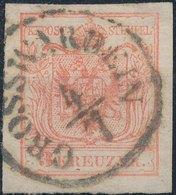 Austria 1850 - Nᴼ 3 IIIa - GROSWARDEIN - 1850-1918 Empire