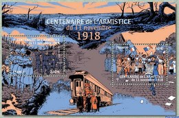France 2018 - Yv N° F5284 ** - Centenaire De L'Armistice (timbres 5284 & 5285) - France