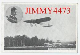 CPA - Roland GARROS Sur Monoplan Blériot - ....-1914: Precursors