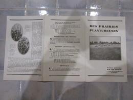 Pub Bureau D Etudes Sur Les Engrais Tarbes Des Prairies Plantureuses - Publicités