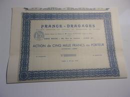 FRANCE DRAGAGES (1939) - Non Classés