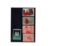 Vignettes Du Carnaval - Commemorative Labels