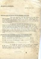 77 Sucrerie De COULOMMIERS - Règlement Des Betteraves - Campagne 1957-1958 - Coulommiers