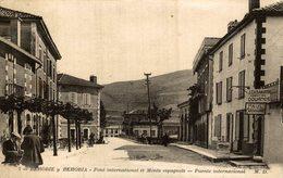 BEHOBIE Y BEHOBIA PONT INTERNATIONAL ET MONTS ESPAGNOLS - PUENTE INTERNACIONAL - Guipúzcoa (San Sebastián)
