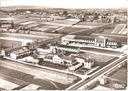 ST-MARTIN-BELLE-ROCHE (71) Coopérative Laitière Mâconnaise Et France-Lait - Vue Générale En 1962  RARE CPSM  GF - Other Municipalities