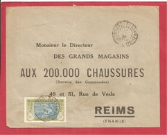Y&T N°69 GRAND BASSAM   Vers  FRANCE 1934 - Côte-d'Ivoire (1892-1944)