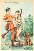 Illustrateur Carriere -  Chasse Vous Me Desarmez   W 88 - Humour