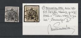 Mi. Nr. 2 X III A, Bestens Gepr. Dr. Ferchenbauer, Gestempelt - 1850-1918 Imperium
