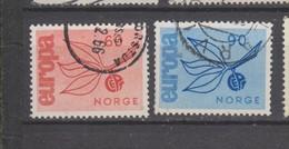 Norvège Yvert 486 / 487 Oblitérés - Europa-CEPT