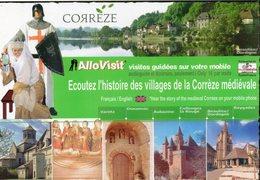 Corrèze La Corrèze Médiévale Varetz Donzenac Aubazine Collonges-la-Rouge Beaulieu Reygades - Autres Communes
