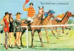 Illustrateur Carriere -  Tiercé Mon Cheval Vous A Remarquées   W 92 - Humour
