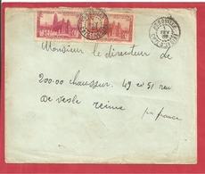 Y&T N°116+118  AGBOVILLE  Vers  FRANCE 1938 2 SCANS - Côte-d'Ivoire (1892-1944)