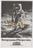 Roma, Quotidiano Il Tempo, First Man On The Moon, Al Verso Annullo Speciale Roma 8-12-84 - Pubblicitari