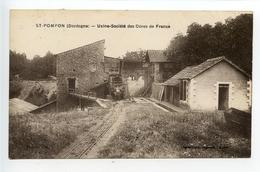 Saint Pompon Usine Société Des Ocres De France (rare) - France