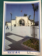 MACAU BORDER GATE WITH PORTUGUESE FLAG - Chine