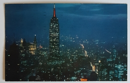 1952 New York, Night View From Rockefeller Center, Used - NY - New York