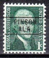USA Precancel Vorausentwertung Preo, Locals Alabama, Pinson 745 - Vereinigte Staaten