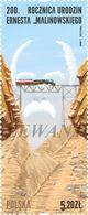 2018.12.10. 200th Anniv. Of The Birth Of Ernest Malinowski - Ferrocarril Central Andino - Train Crossing The Bridge MNH - 1944-.... Republic