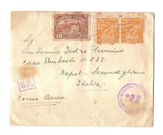 EL SALVADOR - COVER TO ITALY - POSTMARK AEREO EXTERIOR - STAMPS - 1938 - El Salvador