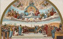 Raffaello Sanzio La Disputa Del Sacramento - Stanza Della Signatura Musei Vaticani. Roma - Quadri, Vetrate E Statue
