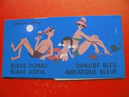 BLAU DONAU-BLAUE ADRIA.AUSTRIA-YUGOSLAVIA - Dépliants Touristiques