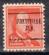 USA Precancel Vorausentwertung Preo, Locals Alabama, Prattville 704 - Vereinigte Staaten