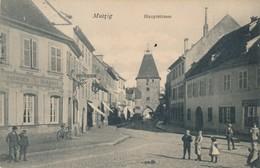 CPA - France - (67) Bas Rhin - Mutzig - Haupstrasse - Mutzig