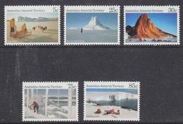 AAT 1984 Landscapes 5v ** Mnh (41469B) - Territoire Antarctique Australien (AAT)
