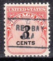 USA Precancel Vorausentwertung Preo, Locals Alabama, Red Bay 703 - Etats-Unis