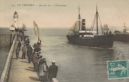 76 - LE TREPORT - Arrivée De L' Envermeu - Le Treport