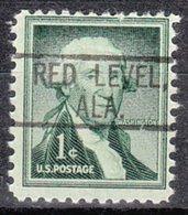 USA Precancel Vorausentwertung Preo, Locals Alabama, Red Level 802 - Etats-Unis