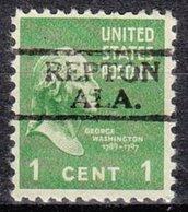 USA Precancel Vorausentwertung Preo, Locals Alabama, Repton 728 - Vereinigte Staaten