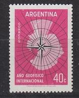 Argentina 1958 IGY 1v ** Mnh (41469C) - Argentinië