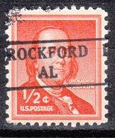 USA Precancel Vorausentwertung Preo, Locals Alabama, Rockford 882 - Etats-Unis