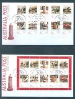 AUSTRALIA  - FDC - 25.3.2009 - 200 YEARS AUSTRALIAN POST - Yv 3042-3061 - Lot 18518 - Premiers Jours (FDC)
