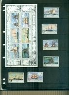 TURKS E CAICOS BATEAUX ANCIENNES 6 VAL + BF NEUFS A PARTIR DE 1 EURO - Turks & Caicos (I. Turques Et Caïques)