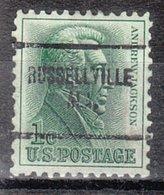 USA Precancel Vorausentwertung Preo, Locals Alabama, Russelville 704 - Vereinigte Staaten