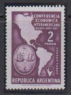 Argentina 1957 Conferencia Economica Interamericana 1v ** Mnh (41469D) - Argentinië