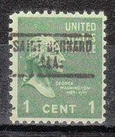 USA Precancel Vorausentwertung Preo, Locals Alabama, Saint Bernhard 734 - Vereinigte Staaten