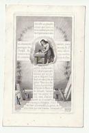 Balthasar VAN HAMME DE STAMPAERTSHOUCKE Brugge Lophem 1828 & Maria VAN DEN BOGAERDE Brugge 1849 - Images Religieuses